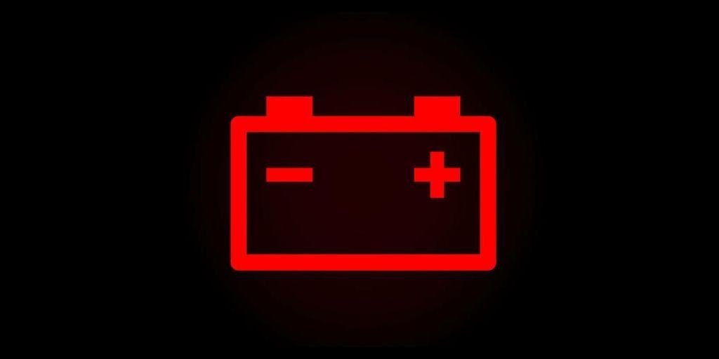 Dashboard Warning Lights and What They Mean battery charging light