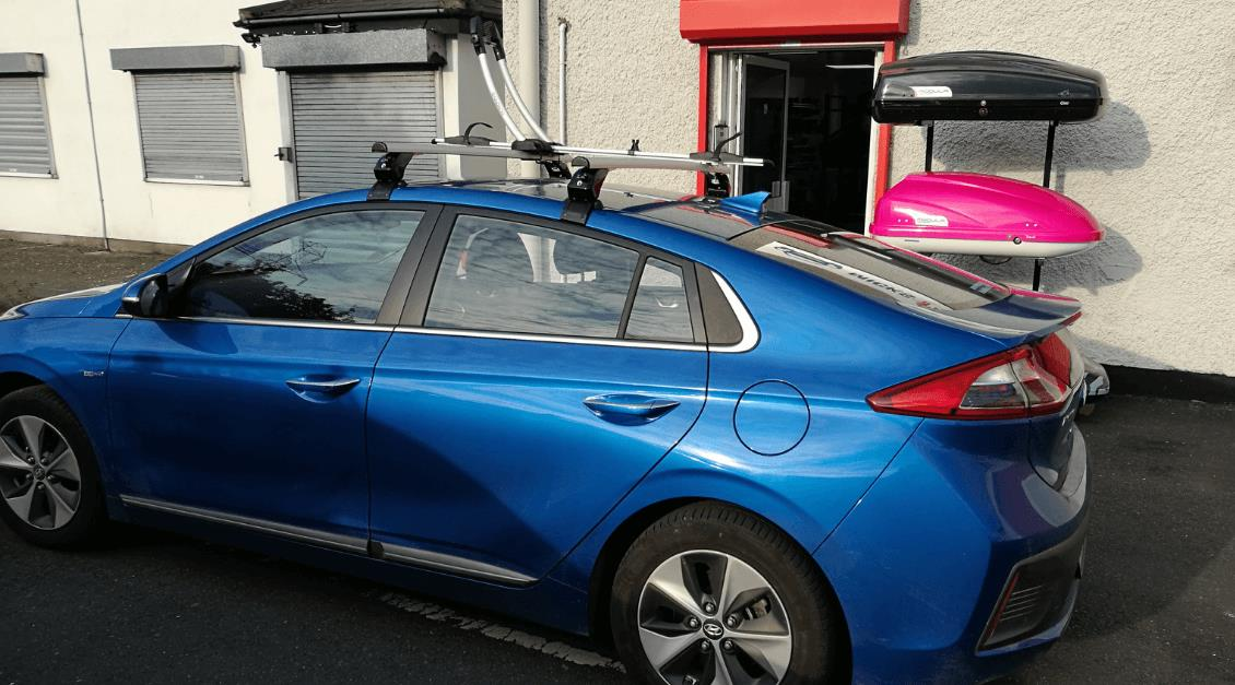 Hyundai Ioniq Roof Bars & Bike Rack