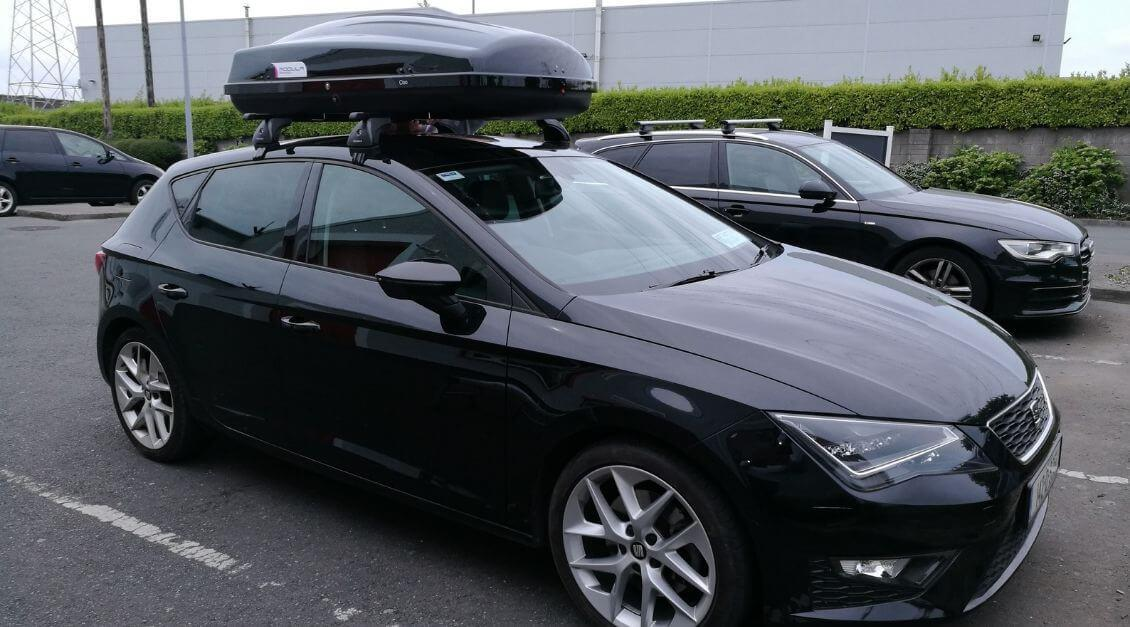 Seat Leon Roof Bars and Box