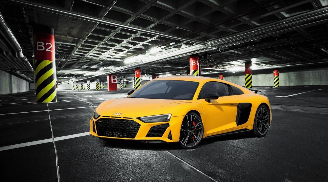 Audi R8 2019 FaceLift Model:
