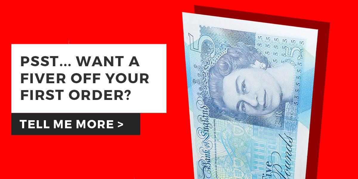 Save £5 Now - Sign Up